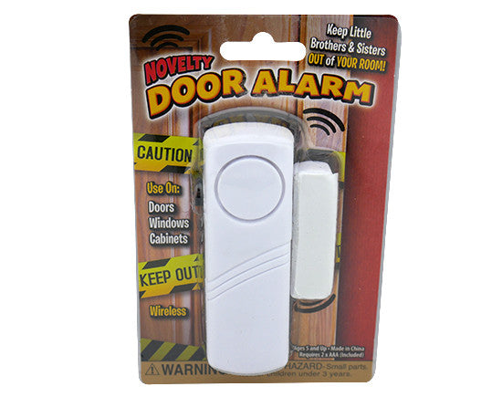 Novelty Door Alarm