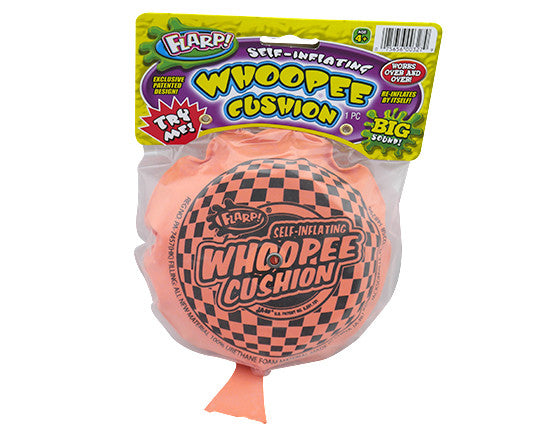 Self-Inflating Whoopee Cushion