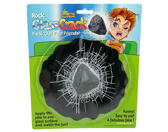Rock Glass Crack