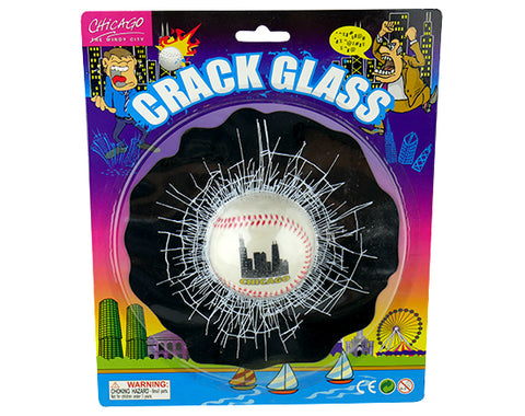 Baseball Glass Crack