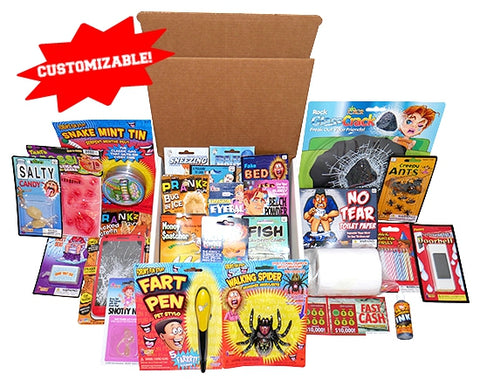 Build-A-Prank-Kit Large No Shock Items