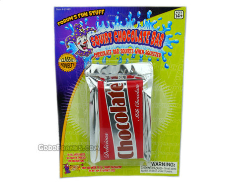 Squirt Chocolate Bar