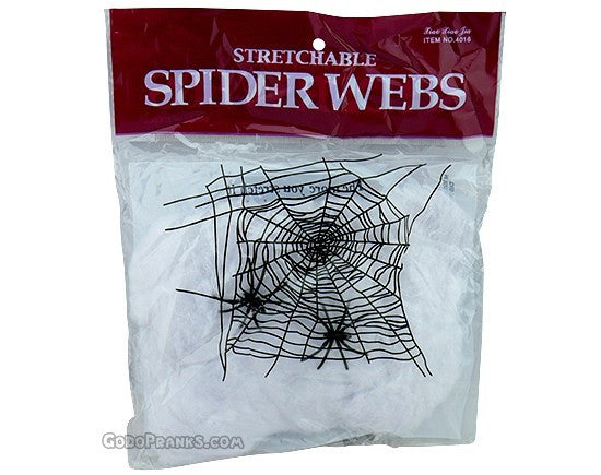 Stretchable Web With Spiders