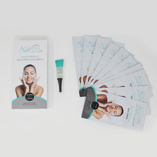 AGELISS ANTI-WRINKLE SKIN STRIPS AND SERUM