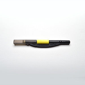 DISPOSABLE MANUAL PEN - BLACK AND YELLOW