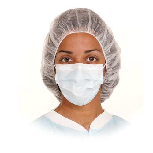 DISPOSABLE HEAD BONNETS (100 PIECES)