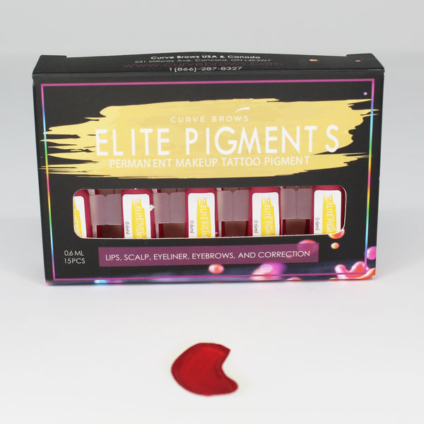ELITE PMU MACHINE PIGMENT COTTON CANDY PINK 0.6ML (15 PIECES)