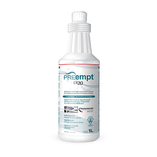 PREEMPT CS 20 STERILANT & HIGH LEVEL DISINFECTANT (1L)