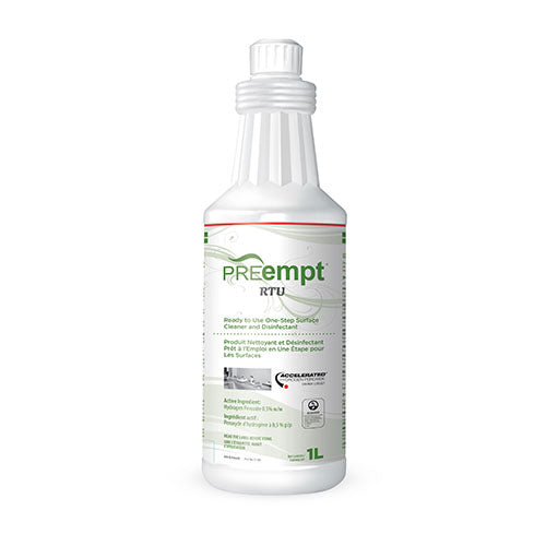 PREEMPT RTU - SURFACE CLEANER AND DISINFECTANT (1L)