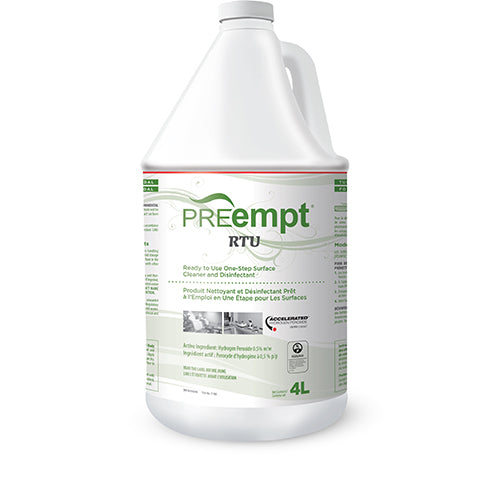 PREEMPT RTU - SURFACE CLEANER AND DISINFECTANT (4L)