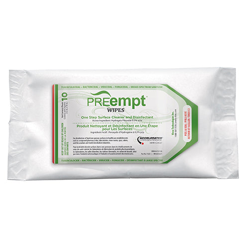 PREEMPT SURFACE CLEANER & DISINFECTANT WIPES (1 PACK)