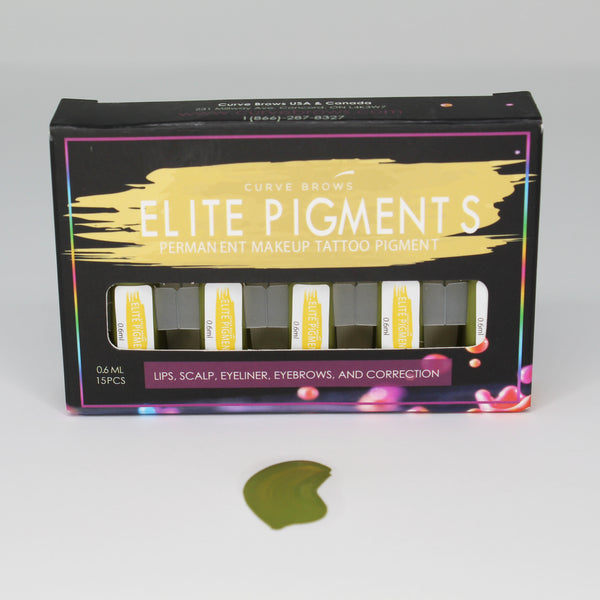 ELITE PMU MACHINE PIGMENT RED CORRECTOR 0.6ML (15 PIECES)