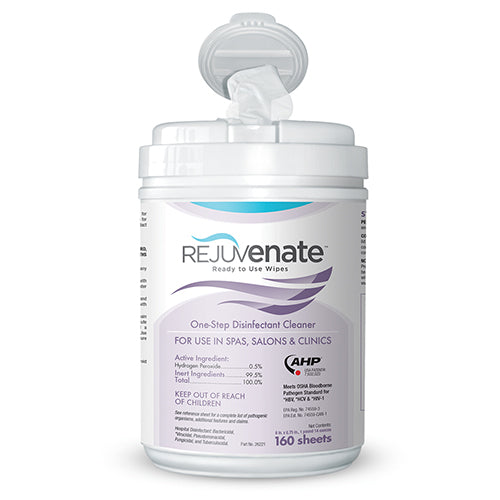 REJUVENATE - READY TO USE DISINFECTANT WIPES (160 SHEETS)