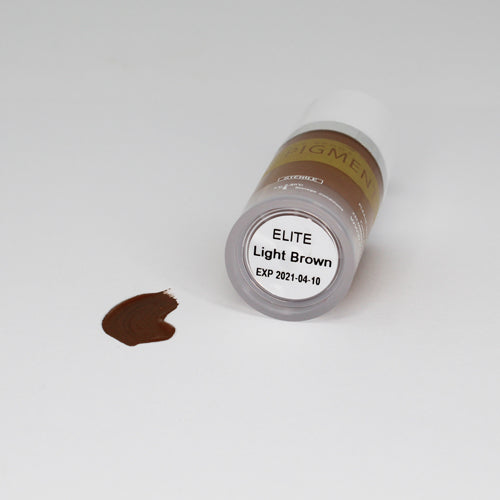 ELITE PMU MANUAL PIGMENT LIGHT BROWN 10ML