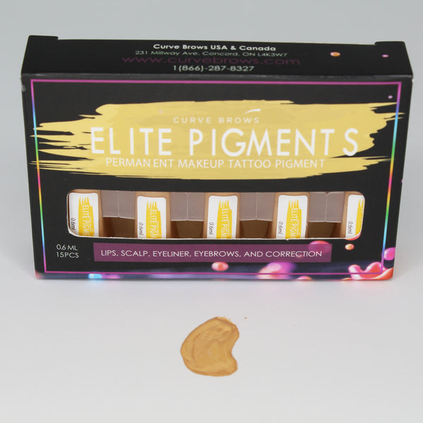 ELITE PMU MACHINE PIGMENT HIGHLIGHT 0.6ML (15 PIECES)