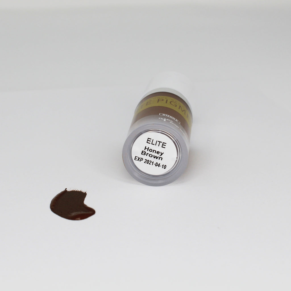 ELITE PMU MACHINE PIGMENT HONEY BROWN 10 ML