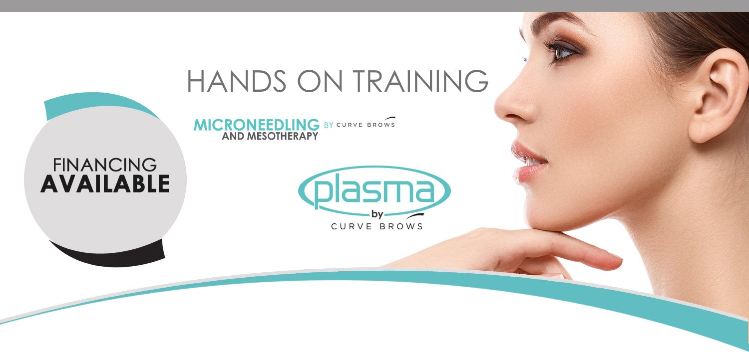Plasma Fibroblast and Derma Pen Microneedling Training by Curve Brows