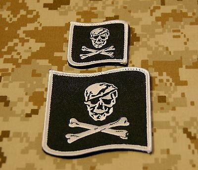NSWDG Blue Squadron Patch Set - Black & White