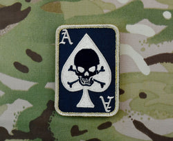 Death Dealer Card Patch  BLACK & TAN VERSION