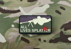 ALL LIVES SPLATTER 3D PVC