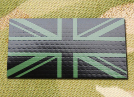 IR UK Flag - Green & Black