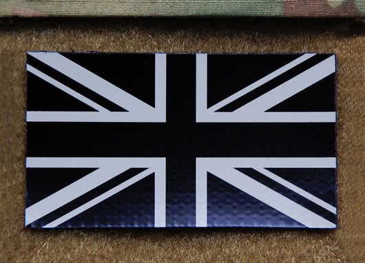 IR UK Flag - Tan & Black