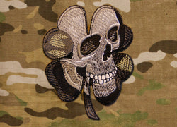 Clover Skull Morale Patch