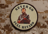 Never Go Full Retard Morale Patch