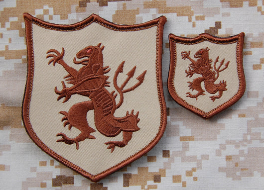 NSWDG Gold Squadron Lion Patch Set