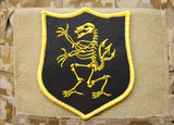 NSWDG Navy SEAL Team 6 Lion Skeleton Gold Squadron