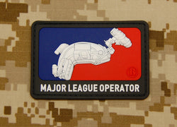3D PVC Major League Operator Patch
