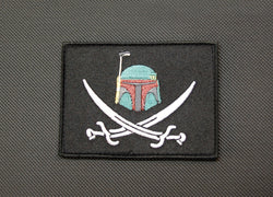Boba Fett Calico Jack Morale Patch