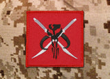 Mandalorian Kad'ara Battlegroup Squadron Patch