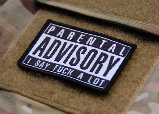PARENTAL ADVISORY patch