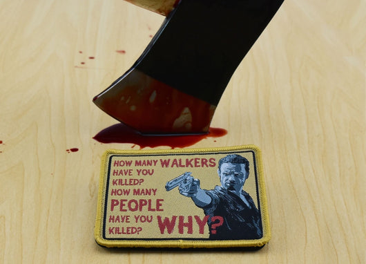 Rick Grimes 3 Questions Morale Patch