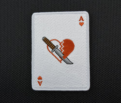 Ace Combat Heartbreak One Embroidered Morale Patch