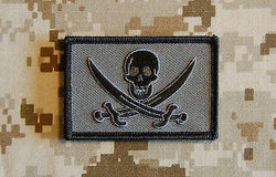 Mas Grey Calico Jack Morale Patch