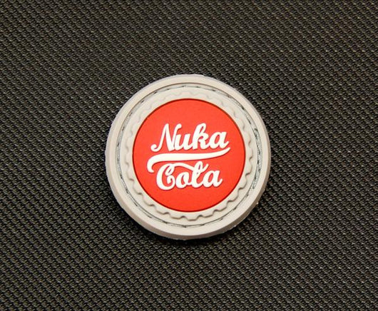 Nuka Cola 3D PVC Morale Patch