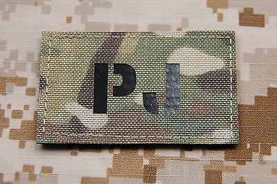 Infrared PJ Call Sign Patch - Multicam