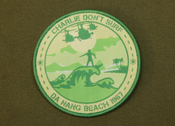 Charlie Don't Surf Morale Patch