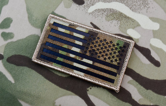 Infrared Multicam Reverse US Flag Patch