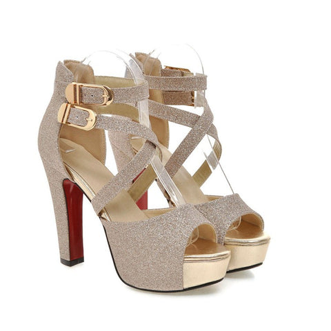 Ladies High-Heeled Sandals- www.jhodaj.com