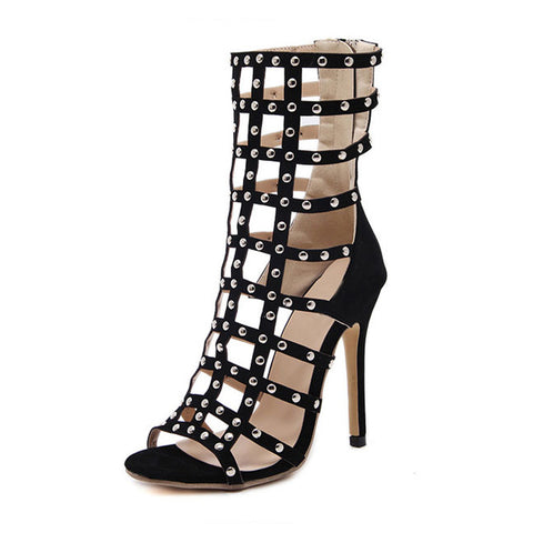 High Heel Women Gladiator Roman Sandals- www.jhodaj.com