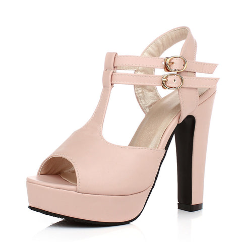 High Heels Women Sexy Wedding Party Sandals- www.jhodaj.com