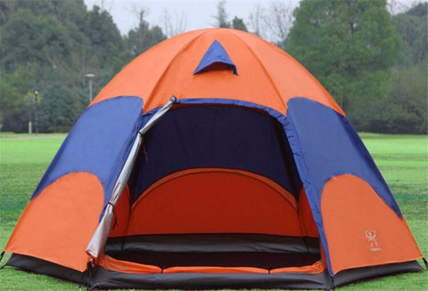 Large Camping Family Tent Double Layer 5-8 People- www.jhodaj.com