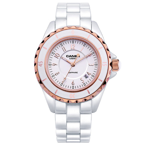 Luxury Brand Women CASIMA Ceramic Watch- www.jhodaj.com