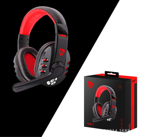 Bluetooth Game Headset Hi-fi Noise Cancelling Wireless Headphone for PC IPad Laptop PS3 PS4- www.jhodaj.com