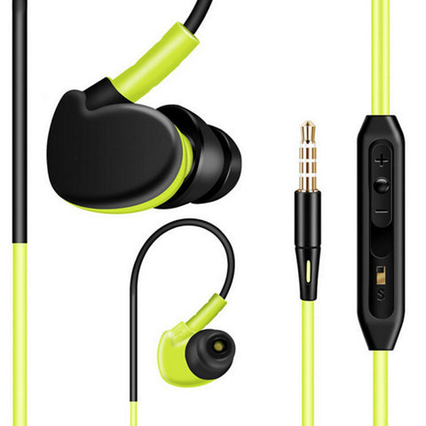 Waterproof Sport Headphones Earphones- www.jhodaj.com