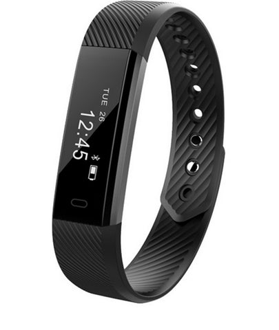 Smart Bracelet Fitness Tracker Step Counter Activity Monitor- www.jhodaj.com
