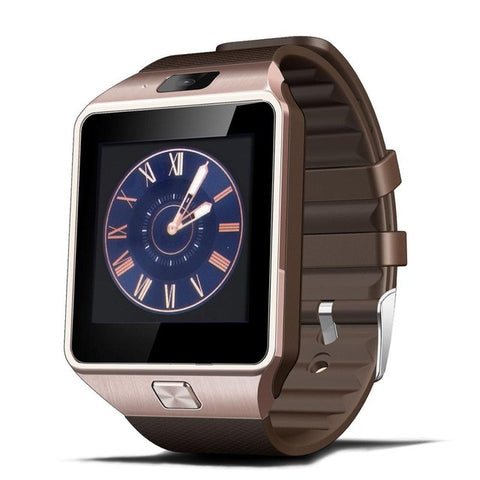 Smart watch Waterproof Sport Gold Smart Watch DZ09 Pedometer For iPhone Android- www.jhodaj.com